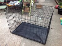 Large dog crate suitable large border collie / husky