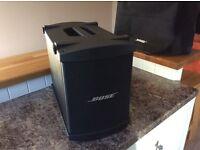Bose bass bin