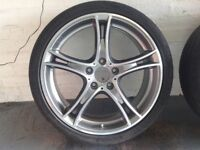 BMW Style 361 19 inch alloy wheels with Michelin Super Sport tyres