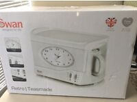 Swan teasmade teas maid maker with ceramic pot, new boxed - West Kirby, Wirral