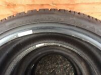 Dunlop sp winter sport tyres 235/40/18 x4