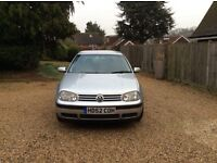 VW Golf Mk4 TDi manual. LOW MILEAGE