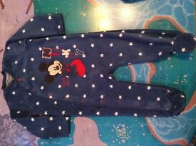 Disney baby sleep & play suit 9-12 months