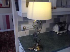 Antique Paisley Table Lamp