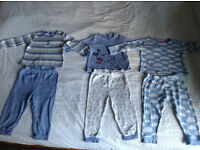 Bundle of Baby / Toddler Sleep Suits, Pyjamas & Vests, Boys, 12-18 months