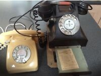 Vintage and classic telephones