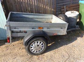 Brenderup trailer 6x4