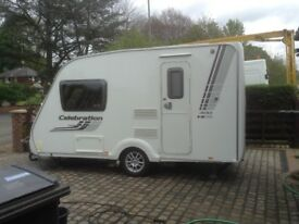 Swift Celebration 400 Caravan For Sale. 2010, Immaculate condition