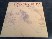 Diana Ross - All The Greatest Hits - Vinyl Gatefold Album 1981