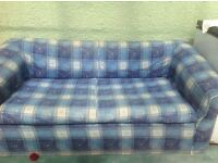 Sofa bed. Free to collect