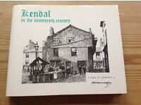 """Wainwright """"Kendal in the Nineteenth Century"""" 1st edition book of drawings"""