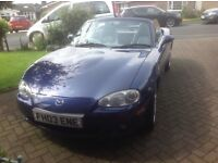 Mazda MX5 1.8is vt sport with factory hardtop outstanding condition