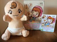 Nintendo Wii - babysitting mama