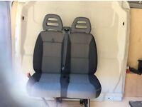 New Fiat Ducato / Boxer / Relay, Double seat and Bulkhead