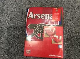 Double Arsenal Quilt cover and 2 pillow slips