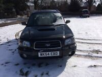 Subaru Forester 2.0 XT Auto 2005,66,000 miles, 1 Owner,Full Service History