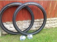 """26"""" MTB tyres and tubes"""