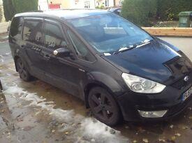 Ford galaxy tdci low mileage 7 seater alloys elec windows cd