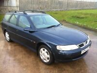 2000 VAUXHALL VECTRA LS 1.8 AUTOMATIC ESTATE **FULL 12 MONTHS MOT**FULL SERVICE HISTORY**