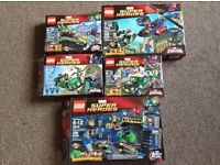 Lego boxed different types