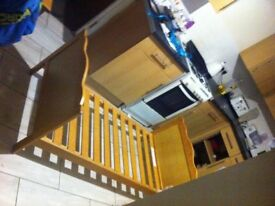 Toddlers bed good condition must go as my son as gone in to a single bed