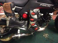 OXTAR PRO MOTOR CROSS MOTORCYCLE BOOTS