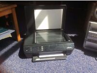 HP wireless inkjet printer and scanner