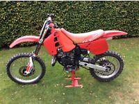 Honda CR 125 1990 EVO £800 Running and riding PROJECT (Needs Work)