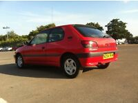 1995 Peugeot 306 1.9 D Turbo, 12 Months MOT, Last Owner 20 Years