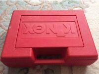 K'nex battle figures scene weapons box