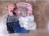 young girls clothes bundle aged 6-7