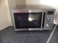 Forsale delonghi stainless steel microwave oven