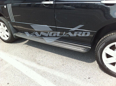VANGUARD 03-12 LAND Vary ROVER HSE SIDE STEP OE STYLE ALUMINUM RUNNING BOARD