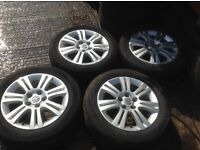 Vauxhall Astra MK5 facelift SXI 16 inch Alloys 205/55/16.