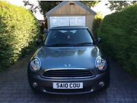 Mini One (2010), Gun-Metal Grey, Excellent Condition Inside & Out, MOT Until 2017, 1.4L Petrol