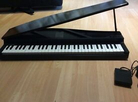 "Korg piano. Excellent condition, ""Natural Touch"" mini keyboard is compact and responsive £240"