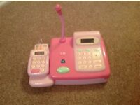 ELC Cash register (Pink) with money