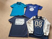 HUGE BUNDLE OF BOYS DESIGNER CLOTHES AGE 13 - 16 years
