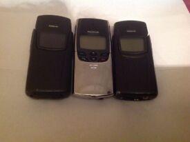 NOKIA 8910/8810/8910i 3 CLASSIC PHONES