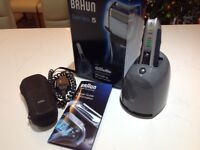 Braun Series 5 590cc Shaver, Accessories & Box. Recent New Foil Excellent Condition £35 Collect CV4