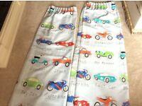 NEXT child's traffic jam curtains