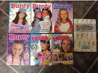 Bunty Annual x 6 plus Bunty Golden Age Classic Stories