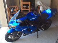 2005 636 Kawsaki very clean bike