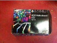400 Multi coloured LED lights