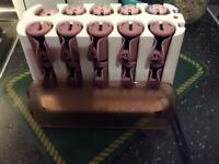 Remington H9100 heated rollers