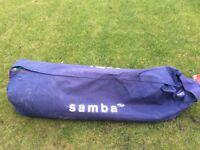 Samba 12'x6' goal and bag