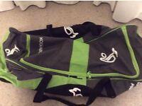 Cricket bag - Kookaburra- used only one or twice