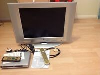 TV and freeview box for sale