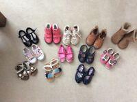 Huge shoe bundle girls size 6 & 7