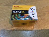 Kodak 30 Black & Colour Ink Cartridges - For Kodak Printers